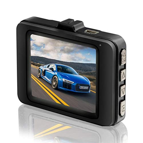 Atmeyol 1080P Full HD Car Driving Recorder Camera with 120° Wide Angle Dashboard Recorder Camera, 1.5inch Screen, On-Dash Video