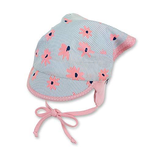 Sterntaler Baby-Mädchen Kopftuch Mütze, Grau (Lichtgrau 518), 41