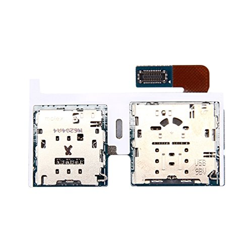 NO-LOGO Cell Phone Parts Compatible with Samsung Galaxy Tab S2 9.7 4G / T819 Micro SD Card & SIM Card Reader Flex Cable