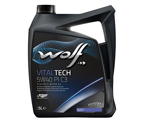 Wolf - Bidon 5 litres d'huile Moteur 5W40-8303012