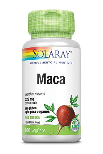 Solaray Maca 525mg | 100 VegCaps