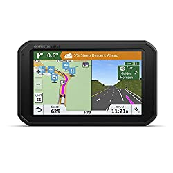top 10 dash cams for truckers Garmindēzl Cam785 LMT-S GPS Navigator for VCR Built-in Trucks, 010-01856-00