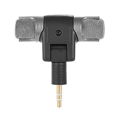 Andoer externe stereo-microfoon met adapterkabel (3,5 mm naar mini USB) voor GoPro Hero 33+ 4 Voor AEE sport-actiecamera