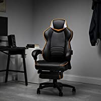 FORTNITE OMEGA GAMING CHAIR - Ready to play like a gaming legend in the Fortnite edition Omega gaming chair? A racecar-style gaming chair that provides luxury and comfort, whether it's used for intense gaming sessions and climbing to the top of the l...