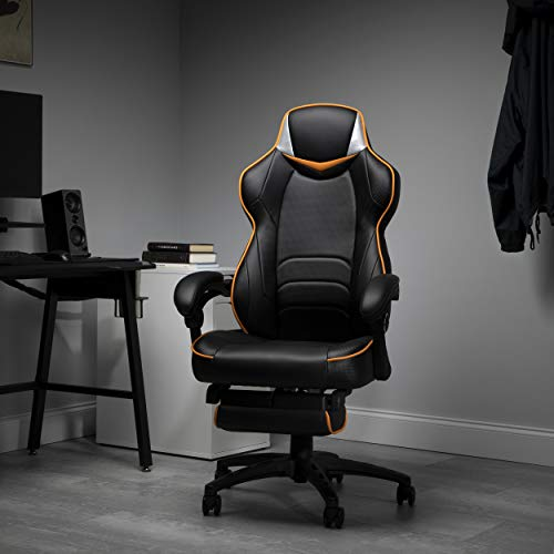 Fortnite OMEGA-Xi Gaming Chair, RESPAWN by OFM Reclining Ergonomic Chair with Footrest