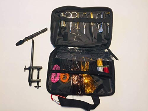 FLYCAST - Fly Tying Kit Rotary AA Vice and Tools
