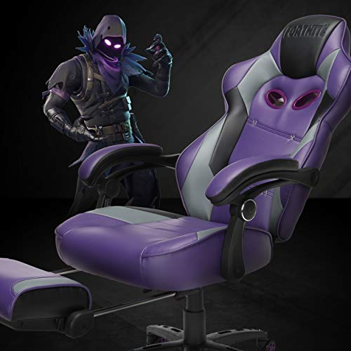 RESPAWN RAVEN-Xi Fortnite Gaming Reclining Ergonomic Chair with Footrest (RAVEN-02)