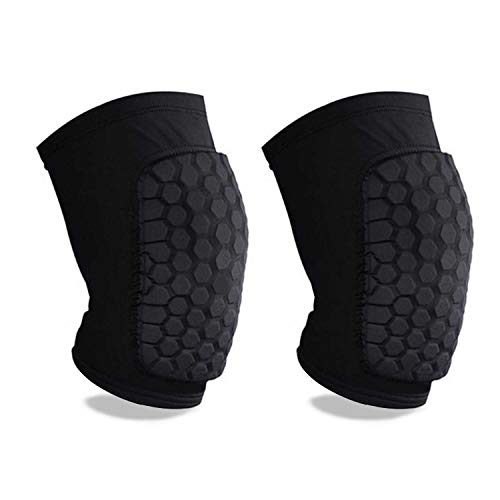 Knee Compression Sleeve,Support Brace Sleeve for Knee Protector with Honeycomb Padding, Breathable...