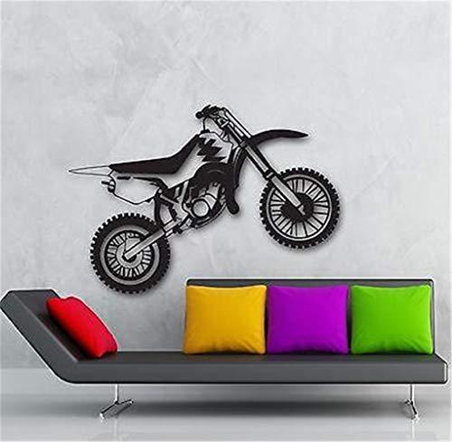 wandaufkleber babyzimmer junge Wand Motorrad Motorrad Enduro Sport Garage