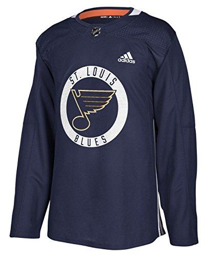 adidas St. Louis Blues NHL Men's Climalite Authentic Practice Jersey (52/L)