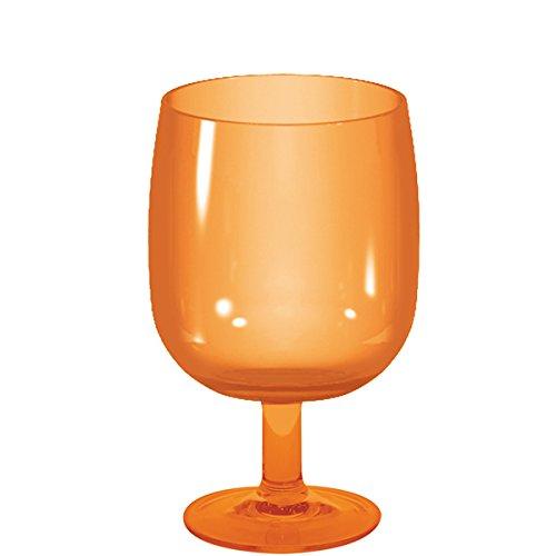Zak Designs 0828-600 Verre, san, Orange, 7 x 7 x 13 cm