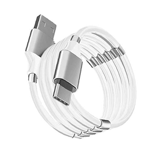 Charging Cable USB Quick Charge Ring Storage Cable Fast Charging Data Cable...