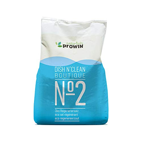 prowin DISH N'CLEAN BOUTIQUE No. 2 Geschirrspülmaschinen-Salz Spezialsalz zur Regulierung der Wasserhärte
