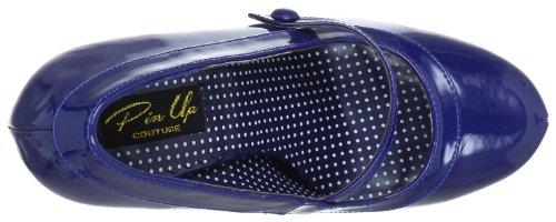 Pin Up Couture CUTIEPIE-02 Damen Pumps, Blau (Navy blue pat), EU 40 (UK 7) (US 10) - 5