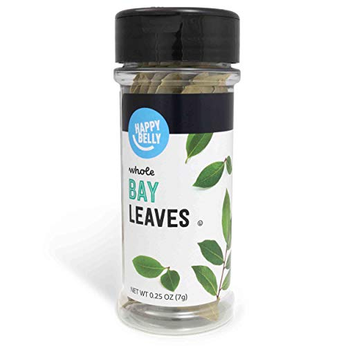 Amazon Brand – Happy Belly Bay Leaves, Whole, 0.25 Ounces