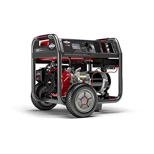 Briggs & Stratton 8000 Watt Portable Generator with Power Surge and Electric Start, 030741