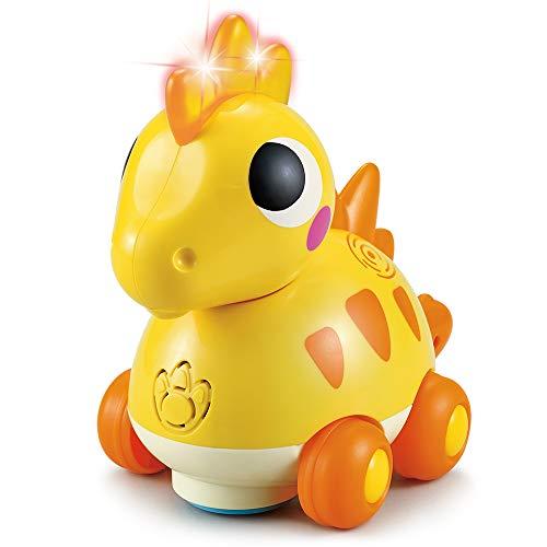 TINOTEEN Baby Spielzeug Musik Dinosaurier Kleinkind Spielzeug Krabbel Kinderspielzeug