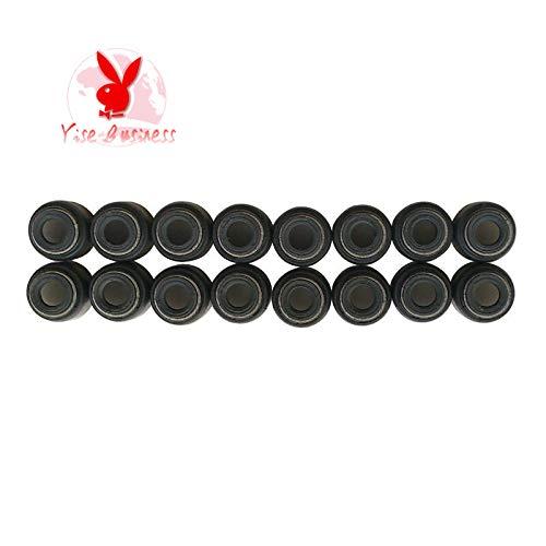 yise-P696 New 16pcs fits for NISSAN X-TRAIL (T30) 2.5 FWD QR20 QR25 Valve Stem Oil Seal Engine Rebuild Kits Car Accessories 13207-D4201 12012100 22224-02500 13207-3Z000 13207-D4201 13207-84A00