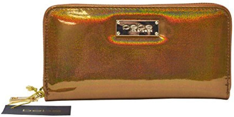 Bebe Minnelli Holographic Glitter Wallet