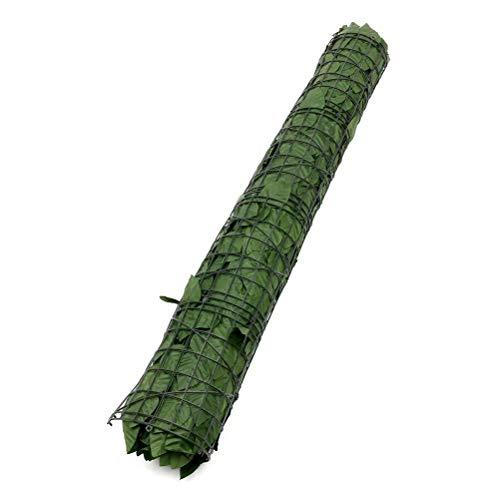 WWJJLL Künstliche Hedges Zaun, künstlicher Efeu Privatsphäre Zaunbildschirm Faux Efeu Rebe Blatt Dekoration Kunststoff Garten Künstliche Blatt Screening Roll,1 * 3m