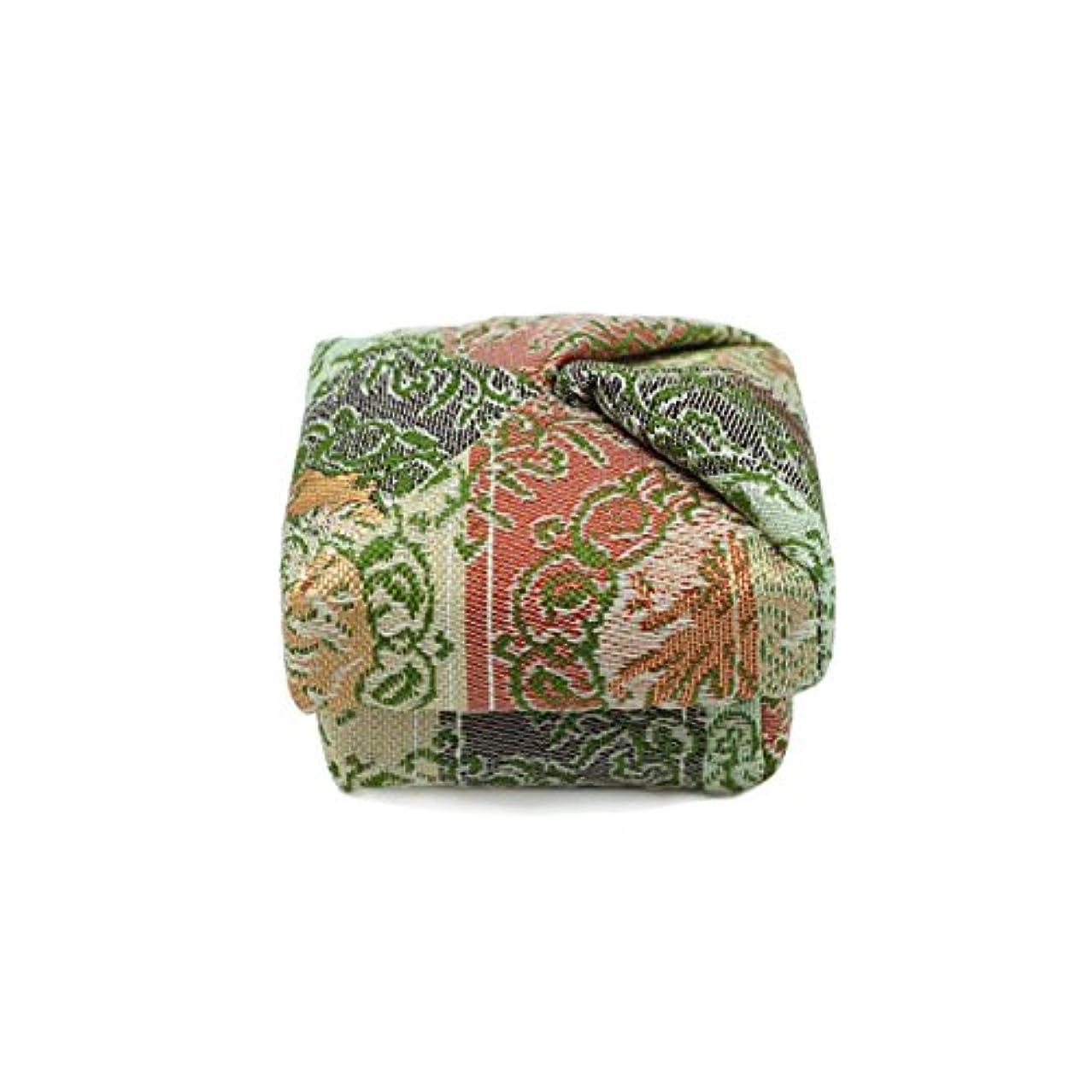 どこでも繁栄する列挙する布香合‐角‐ 紙箱入 鳳凰紋
