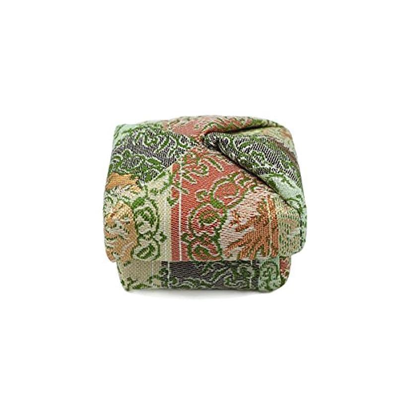 前に嵐が丘バルセロナ布香合‐角‐ 紙箱入 鳳凰紋