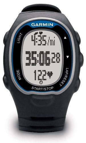 Garmin Forerunner 70 - Reloj para fitness con pulsómetro premium, Negro y...