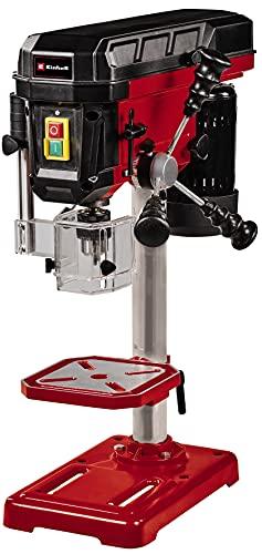 Einhell Taladradora de columna TC-BD 500 (500W, hasta 2410rpm, 9 niveles, profundidad máx. 50mm, tope de profundidad ajustable, mesa de taladrado basculante/giratoria y regulable en altura)