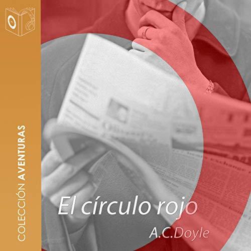 Diseño de la portada del título El círculo rojo