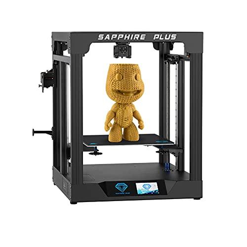 Two Trees Sapphire Plus 3D Printer Core XY de gran tamaño 300 * 300 * 350 Cuerpo de metal completo / Guía lineal doble / Extrusora BMG / Kit de impresora 3D de nivelación automática DIY
