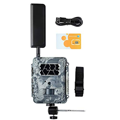 Spartan 4G LTE GoCam Wireless Trail Camera with Mount, AT&T Blackout (Verizon Also Available)