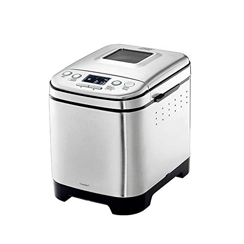 YHLZ Breadmaker, 12 Baking Options Home Cake Maker, Fully Automatic Dough Multi-Function Bread Machine 13-Hour Appointment (Size:203026cm)