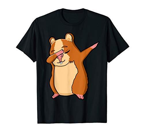 Lustige Tanzender Hamster Kostüm Kleidung Dab Dance Hamster T-Shirt