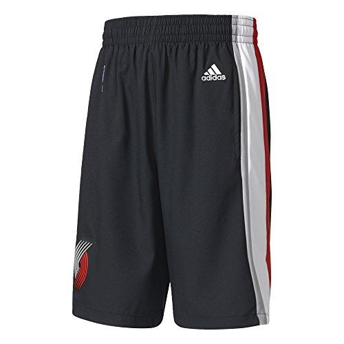 Adidas Pantaloncini da uomo port Land Trail Blazer Woven NBA Team