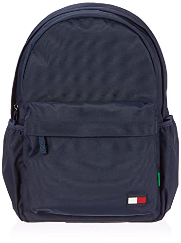 Tommy Hilfiger BTS Core Backpack, Sac Dos Mixte Enfant, Bleu Marine, Medium