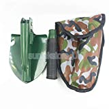 ELECTROPRIME Outdoor Survival Camping Army Military Folding Spade Shovel Entrenching Tool