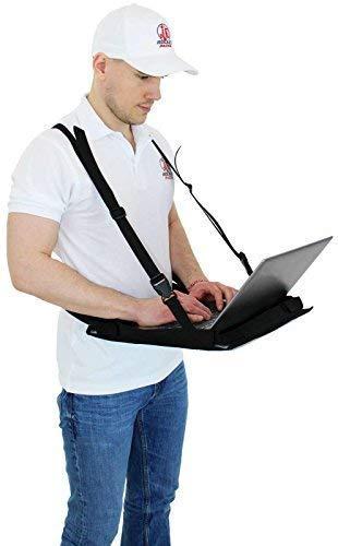Laptop Supporter Inventur Notebook Tablet Supporter Laptop Bauchladen Laptop Halter für 11-14″