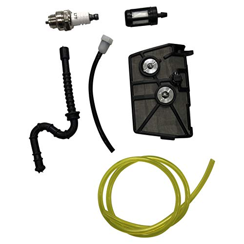 ENGINERUN Air Filter Tune up Kit with Fuel Oil Hose Filter Set Compatible with Stihl 028 028AV 028WB 028 Wood Boss 028 Super OEM 1118-120-1611, 1118-120-1615
