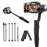 Palo selfie telescópico con estabilizador para celular de dos ejes