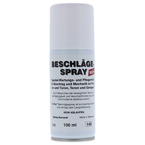 ToniTec® Beschlag-Spray Beschlägespray Beschlagsspray Pflegespray für Fenster