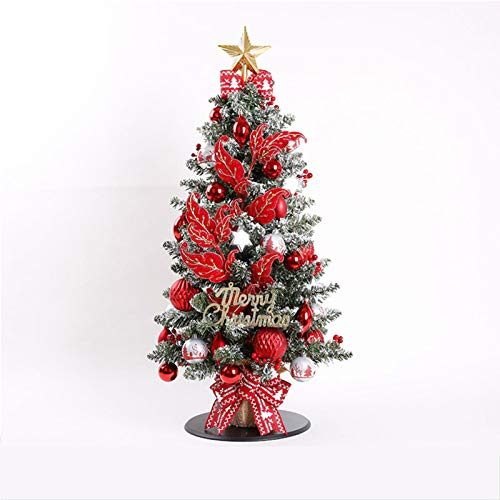 GE&YOBBY Red Decorations Artificial Creativity Snow Tree Gift Xmas Decor Ornaments Decorations for Friend,Parents,Festival Company Korean Christmas Home,Outdoor,