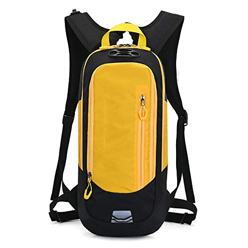 Topashe Hiking bag,Large Rucksack Tear and Water-resistant,Outdoor cycling backpack, hiking bag-yellow