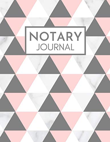 Notary Journal: A Notary Public Record Keeping Log Book/Notebook for Maintaining Complete and Accurate Notarial Records