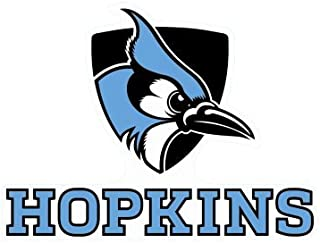 John Hopkins Blue Jays Die Cut Decal 4
