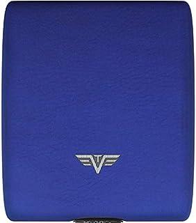TRU VIRTU Money & Cards - Cartera de piel, Blue Pebble (Azul) - 21104000212
