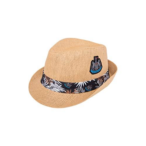 FOCO Newcastle United FC EPL Premier League Football Trilby Straw Floral Summer Hat