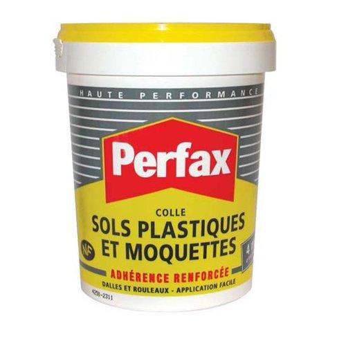 Perfax Colle Sols Plastiques et Moquettes Pot 1 kg