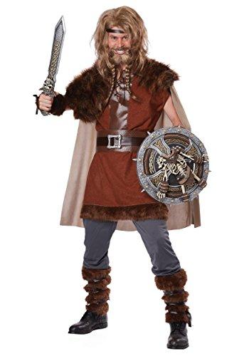 California Costumes Herren Mighty Viking Norse God - Braun - Small / Medium