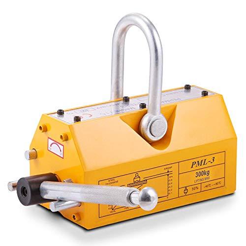 FlowerW 300 kg Permanentmagnete Lift Lifter U-Griff Industrielle Unterstützung 300 kg Controlled Lifting Magnet 300 kg Arbeitsbelastung Grenze