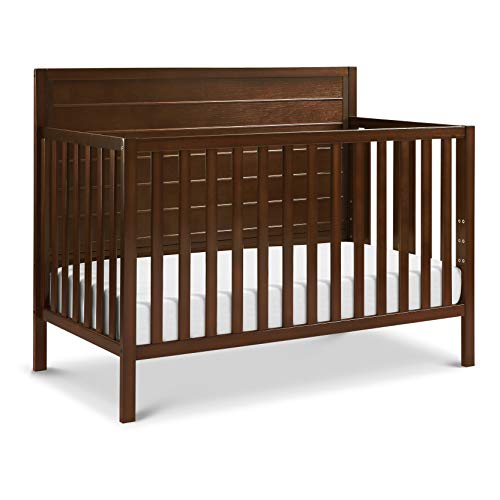 Carter's by DaVinci Morgan 4-in-1 Convertible Crib in Espresso, Greenguard Gold Certified